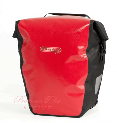 Ortlieb Велосипедная гермосумка Back Roller City red-black