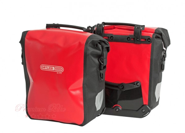 Ortlieb Велосипедная гермосумка Sport Roller City red-black