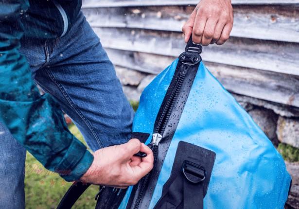 Ortlieb Гермобаул-рюкзак Duffle ocean blue/black 85 л