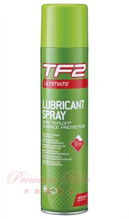 Weldtite Смазка велосипедная с тефлоном TF2 Ultimate Aerosol Spray with Teflon® 400 мл