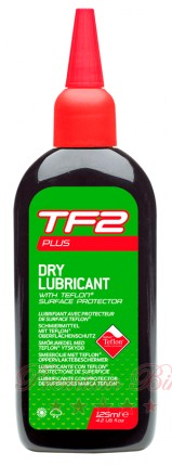 Weldtite Смазка с тефлоном для сухой погоды TF2 Plus Dry Lubricant with Teflon® 125 мл