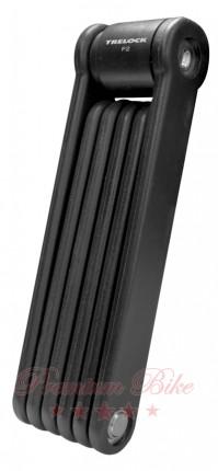 Trelock Велозамок складной сегментный SILVERLINE F 2 / 85 cm ZT 300 black