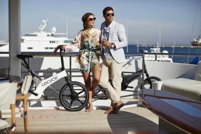 Gocycle Электровелосипед Gocycle G3 белый