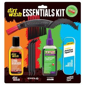Weldtite Набор для чистки, смазки и ремонта проколов Dirtwash Essentials Kit