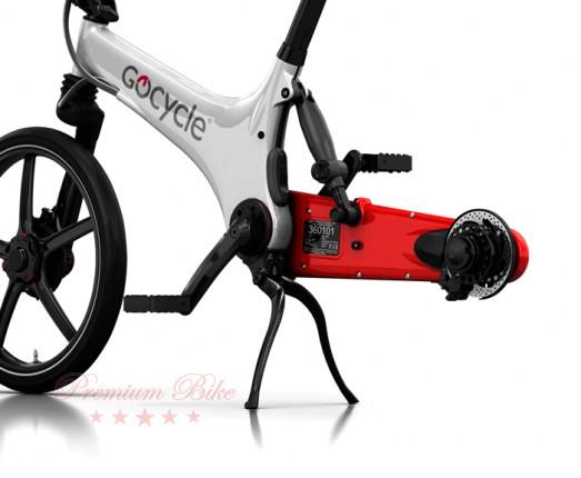 Gocycle Электровелосипед Gocycle GS белый/красный