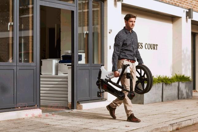 Gocycle Электровелосипед Gocycle GS белый/черный
