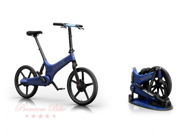 Gocycle Ёлектровелосипед Gocycle G3 синий