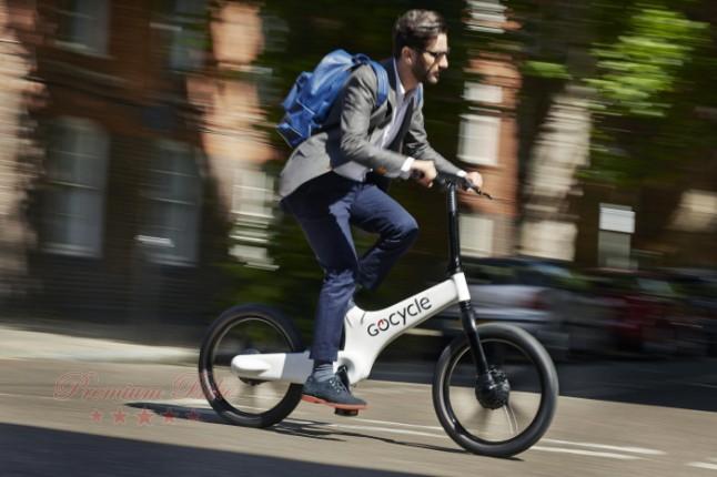 Gocycle Электровелосипед Gocycle G3 синий