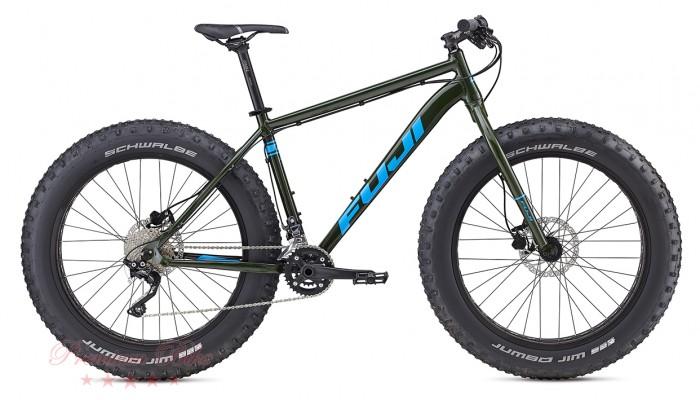 "FUJI Bikes Велосипед фэтбайк Fuji Wendigo 26"" 2.1"