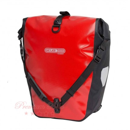 Ortlieb Велосипедная гермосумка Back Roller Classic red-black