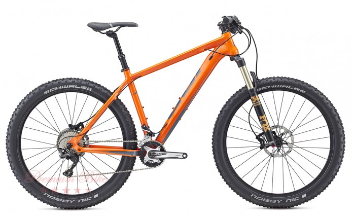 "FUJI Bikes Велосипед фэтбайк Fuji Beartooth 27,5""+ 1.3 Оранжевый"