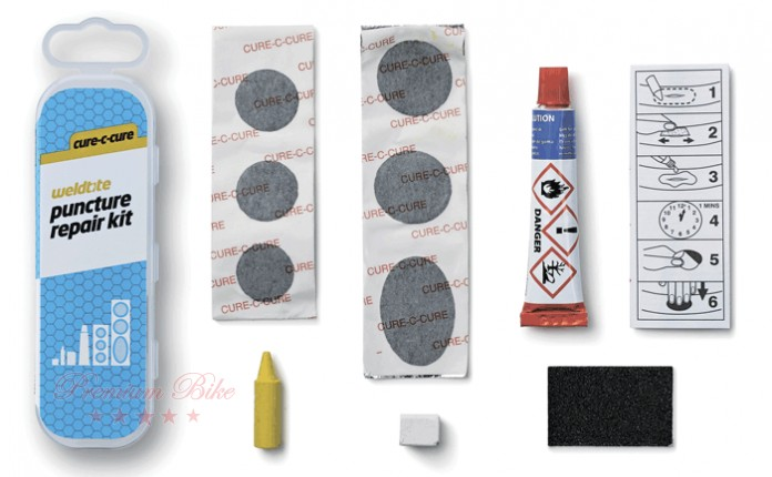 Weldtite Велоаптечка Cure-C-Cure Puncture Repair Kit