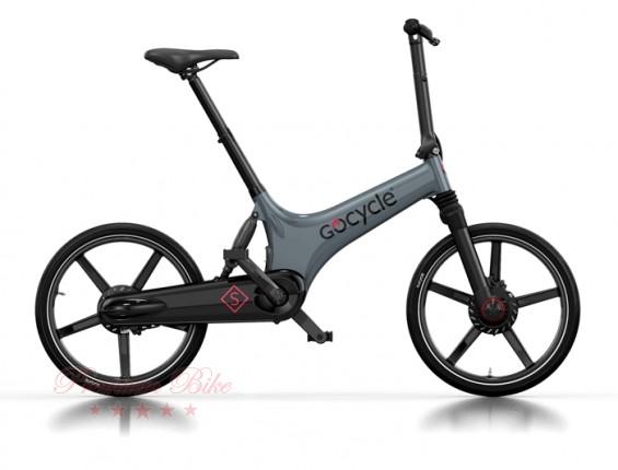 Gocycle Ёлектровелосипед Gocycle GS серый/черный/