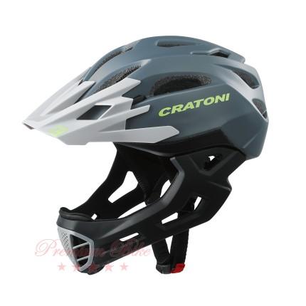 Cratoni Велошлем Cratoni C-Maniac серый/черный