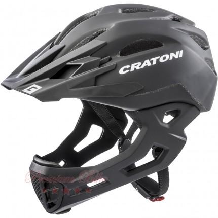 Cratoni Велошлем Cratoni C-Maniac черный матовый