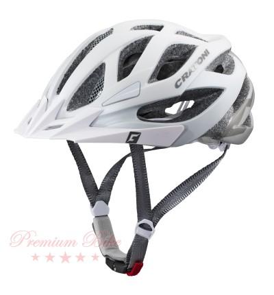 Cratoni Велошлем Cratoni Miuro белый/серебристый