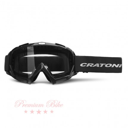Cratoni Велоочки C-RAGE black glossy