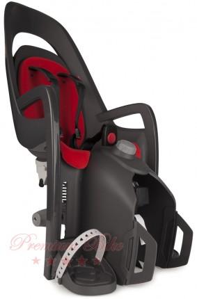 Hamax Велокресло детское HAMAX Caress заднее на багажник серое/красное