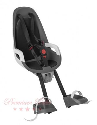 Hamax Велокресло детское HAMAX Observer переднее на рулевую колонку серое/белое/черное