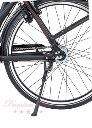 """Hebie Велосипедная подножка задняя FIX 40, изменяемая длина 26-28"""", черная"""