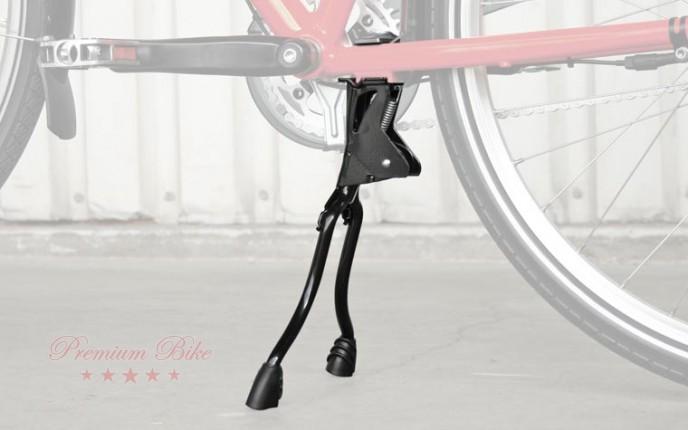 Hebie Велосипедная подножка центральная REX m, 2 ножки, черная