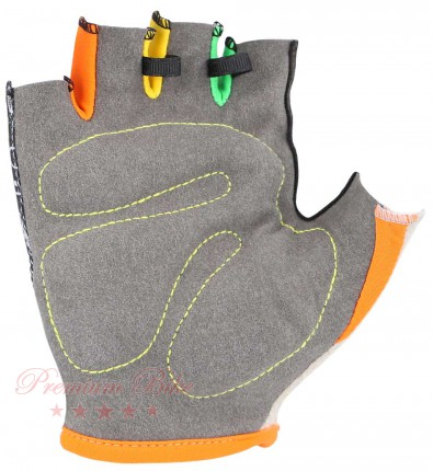 KinetiXx Велоперчатки детские Lexy Kids Bike Glove black printed