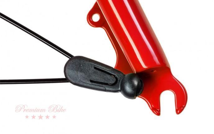 """Hebie Комплект крыльев RAINLINE 28"""" ширина 48 мм, черные гляцевые"""