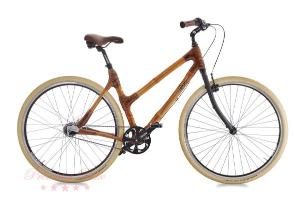 my Boo Велосипед городской с бамбуковой рамой my Pra