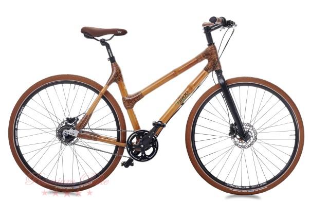 my Boo Велосипед городской с бамбуковой рамой my Afram Nexus