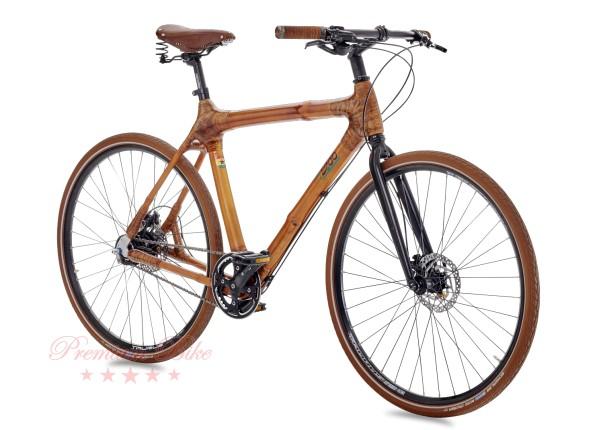 my Boo Велосипед городской с бамбуковой рамой my Afram Alfine