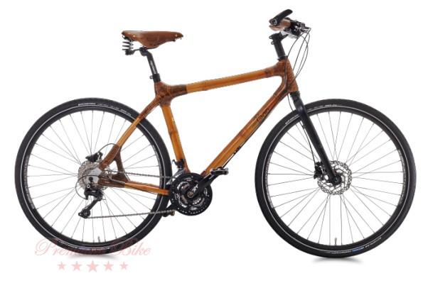 my Boo Велосипед трекинговый с бамбуковой рамой my Tano XT