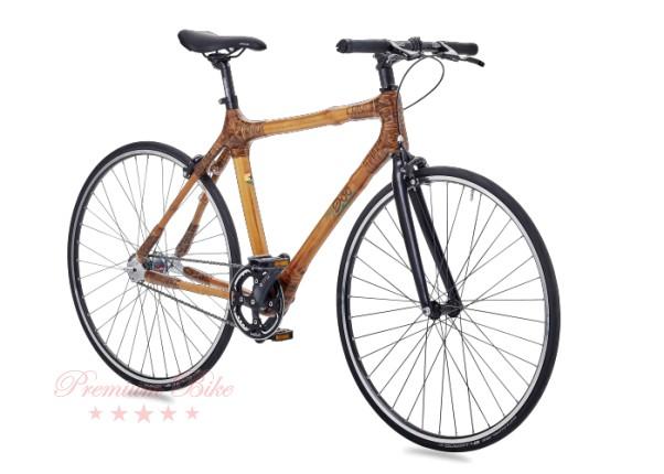 my Boo Велосипед городской с бамбуковой рамой my Todzie